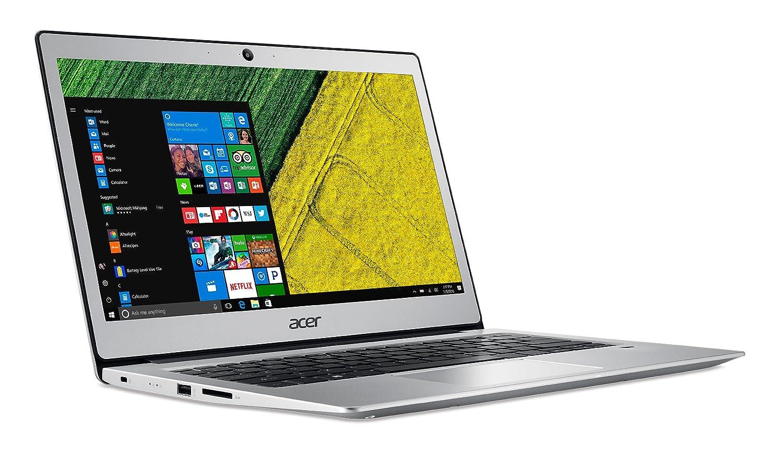 Acer Swift 1 Notebook, Pantalla LED, procesador Intel, RAM 4 GB DDR3 Plateado Plateado 13