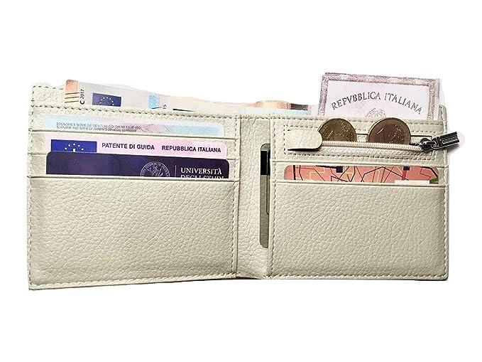 Cartera hombre pequeña con monedero elegante, exclusivo. Billetera hombre pequeña con monedero , amplio y robusto. 11 x 9,5 cm.