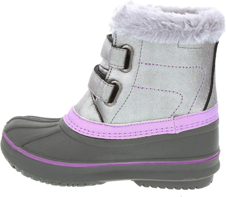 Lavender LONDON FOG Toddler Little Girls Size 9 Totty Ankle High Non-Slip Snow Boots