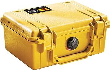 Pelican 1150-WF - Caja protectora (no incluye espuma de soporte), color amarillo