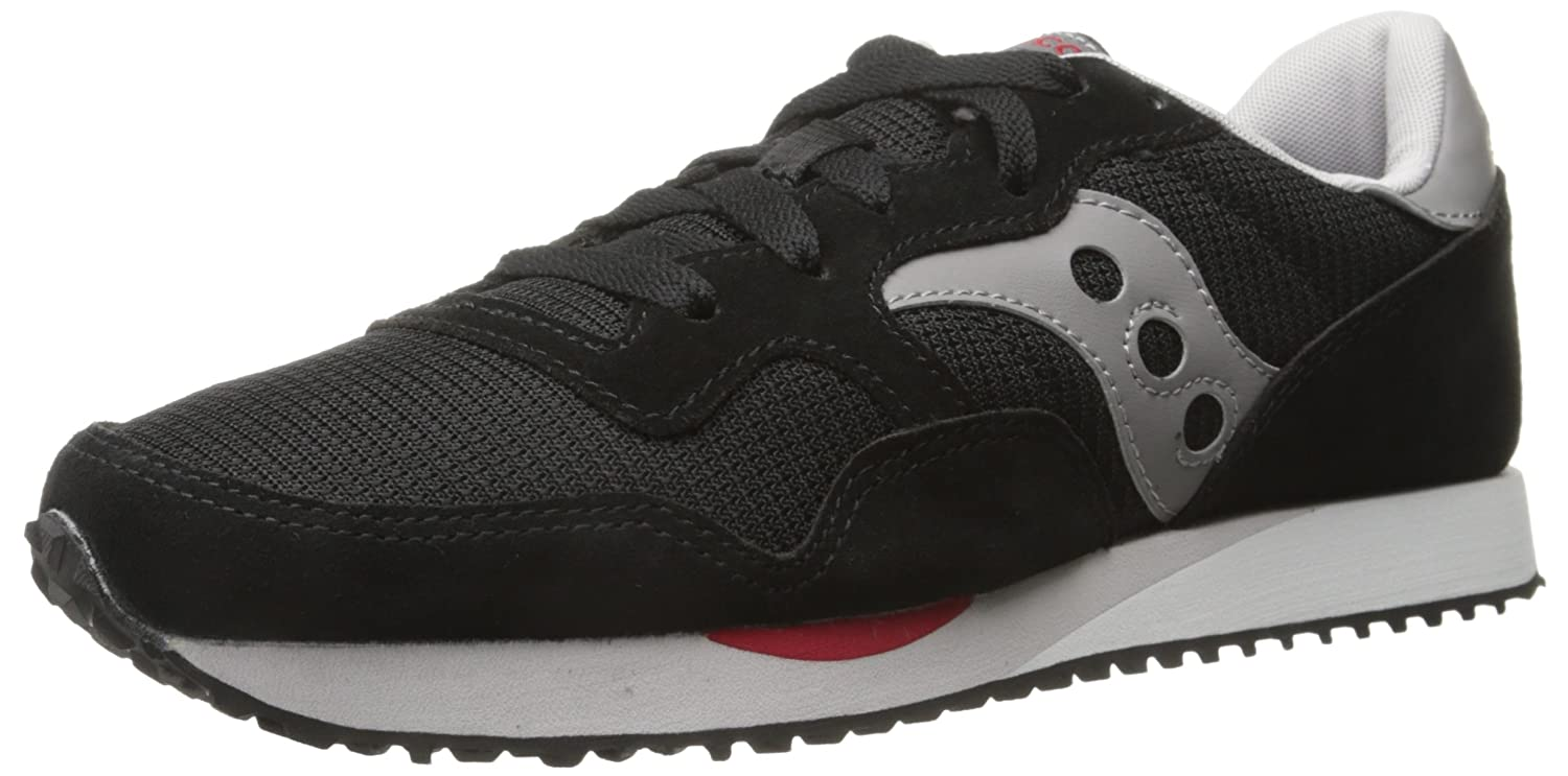 Saucony Originals Men's DXN Trainer Classic Retro Running schuhe, schwarz grau, 7 M US