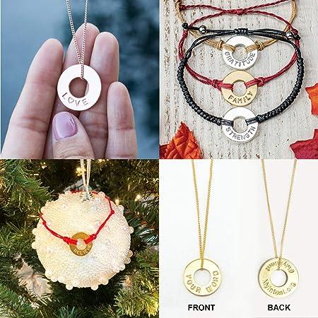 33 Bracelets /& 2 Keychains Unique Charms Whats Your Word Conversation Cards MyIntent MegaMix Maker Kit: Jewelry Making Supplies Makes 9 Necklaces