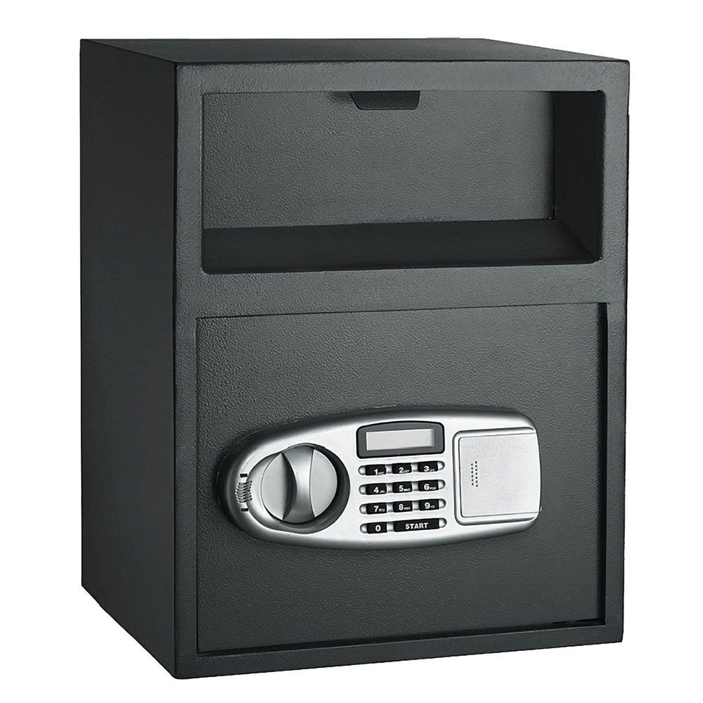Leadzm Double-deck Security Electronic Digital Steel Safe,Home Office Large Size