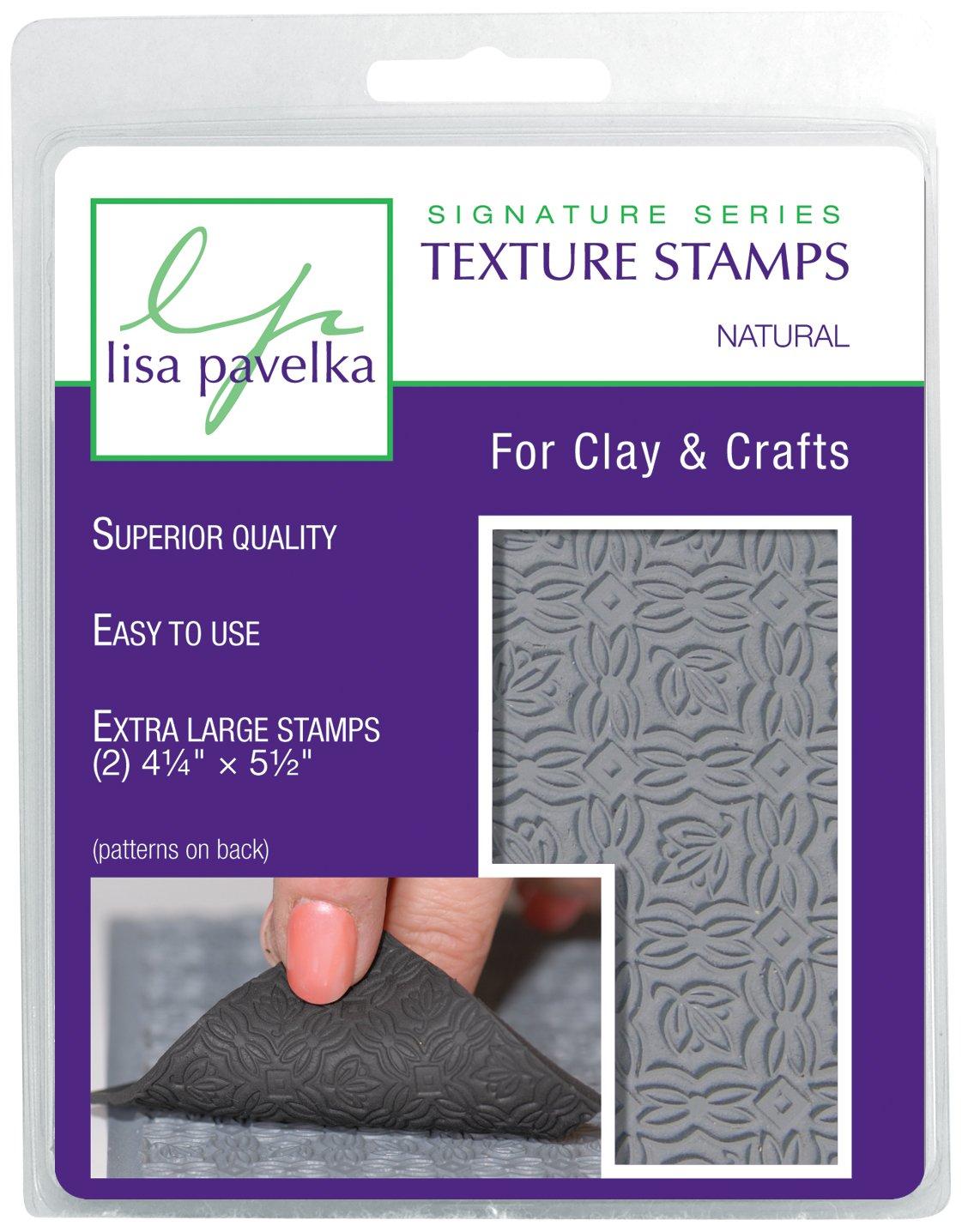 JHB International Inc Lisa Pavelka 327023 Texture Stamp Kit Natural