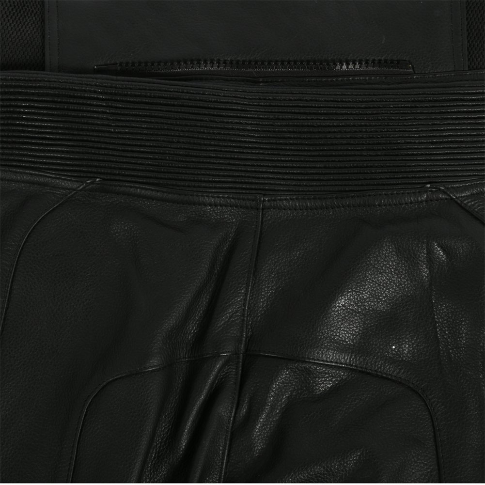 Motorradlederhose Schwarz Texpeed Herren Leder Motorradhose Mit Schutz