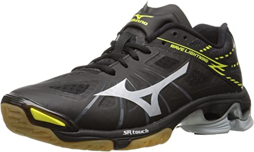 Amazon.com: Mizuno Women s Wave Lightning Z Woms BK-SL ...