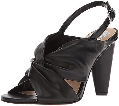 Vince Camuto Women's Kattie Heeled Sandal, Black, 10 Medium US