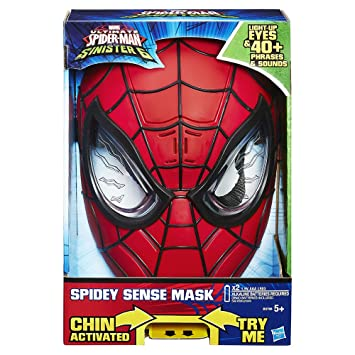 Marvel Spiderman - Máscara electrónica de Spider-Man (Hasbro B5766105)