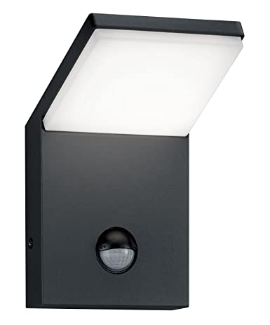 Trio Pearl - Aplique exterior LED, 9,5 W, inPlafon, sensor