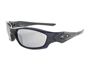 oakley straight  Amazon.com: Oakley Straight Jacket 04-325 Polished Black/ Black ...