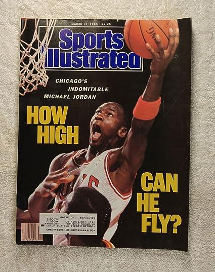 35f5a36b34891 Michael Jordan - How High Can He Fly? - Chicago Bulls - Sports ...
