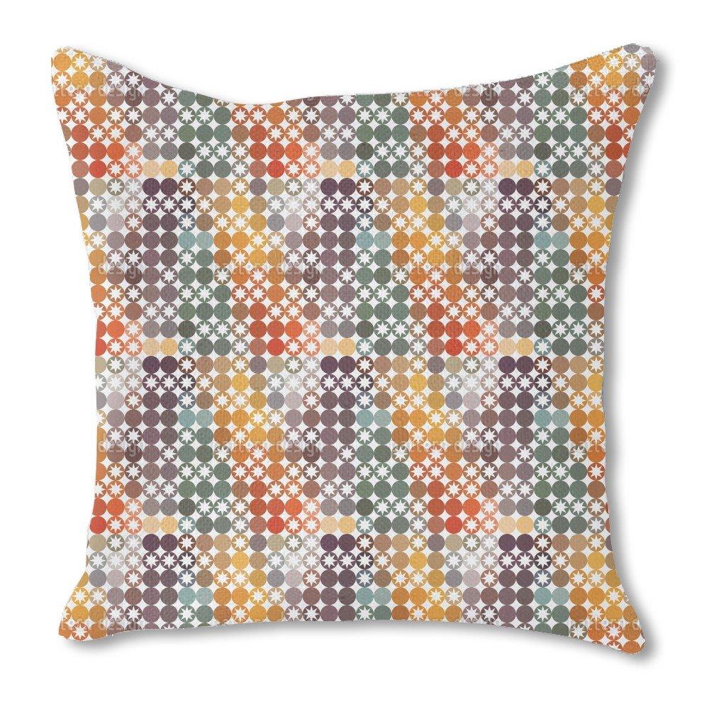 Happy Star Bingo 16X16 Burlap Pillow 2-Sided Custom Printed by uneekee