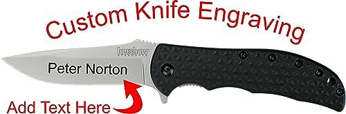 Kershaw Volt II Custom Laser Engraved Knife 3650