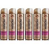 Wella Wellaflex Parfümfrei Haarspray für starken Halt, sanft zur Haut, 6er Pack (6 x 250 ml)