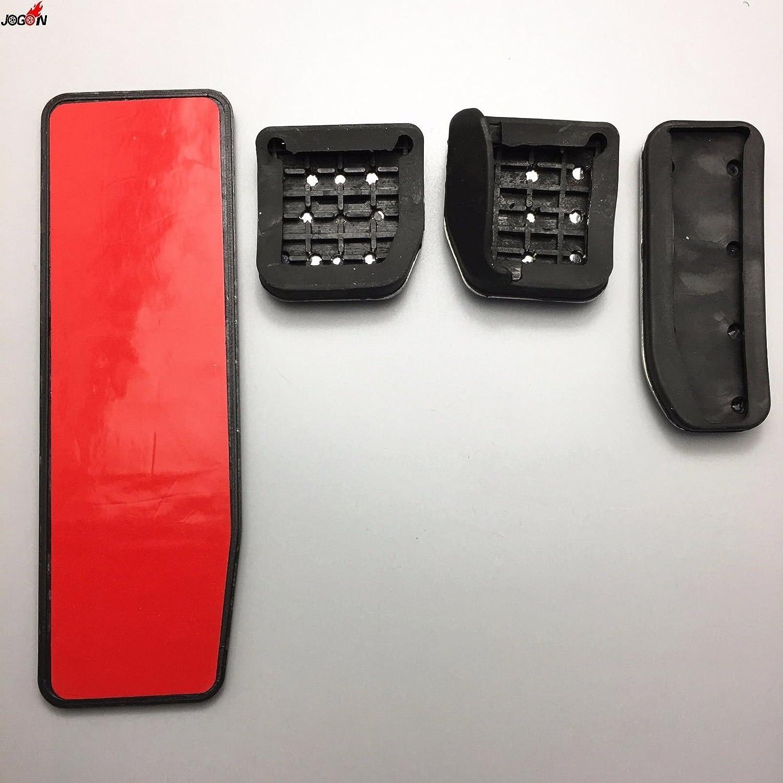 /2017 No drill gas freno a pedale in acciaio INOX antiscivolo acceleratore pedale del freno cover Fits Evoque 2012/
