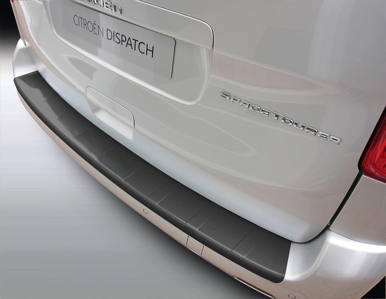 Aroba AR831 Ladekantenschutz kompatibel f/ür Fiat 500X ab BJ 02.2015 Sto/ßstangenschutz passgenau mit Abkantung ABS Farbe schwarz