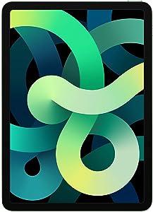 Apple iPad Air - 10.9 inches - 4th Gen - 64GB - Green - MYJ22LL/A - Unlocked (Renewed)