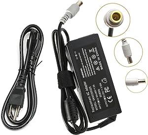 65W AC Adapter Laptop Charger for Lenovo Thinkpad E545 T530 T61 X140e X230; Edge 15 E430 E520 E530 E535; SL500 SL510 T430u T520 X120e X130e X131e X200 X201 X220 X230t X300 X60 S230u Twist Power Cord