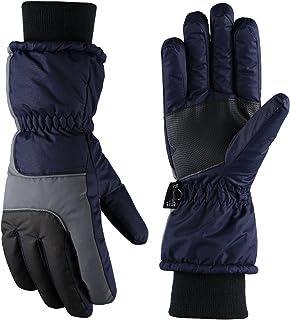 Fazitrip Herren 3M Thinsulate Wasserdichte und Winddichte Ski Handschuhe mit Touchscreen Fingers Winter Handschuhe Gre lifestore