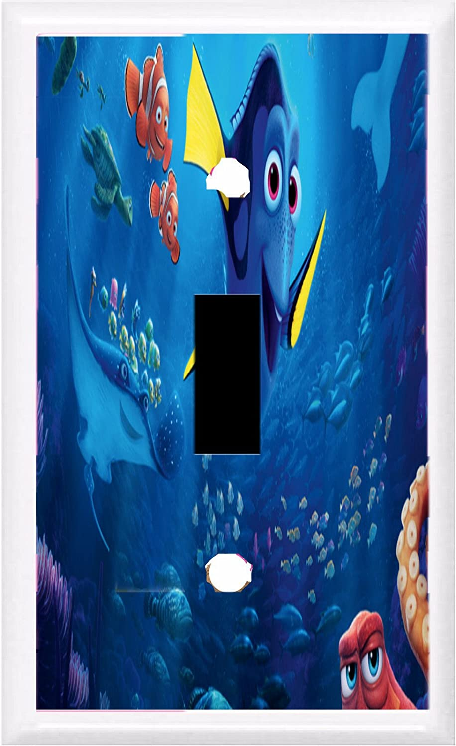 GOT YOU COVERED FINDING DORY AND FRIENDS LIGHT SWITCH COVER OR OUTLET (1x Rocker Option 2)