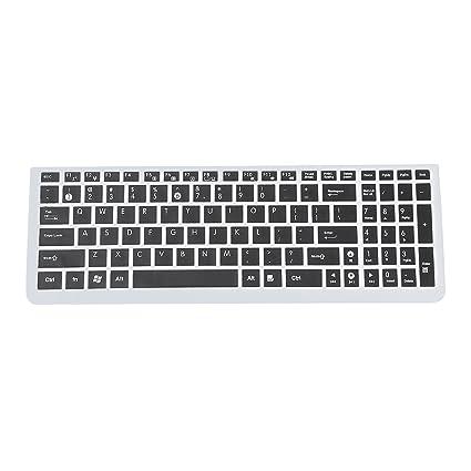 SODIAL(R) Teclado del ordenador portatil Asus N50 Protector incase plus / N51 /