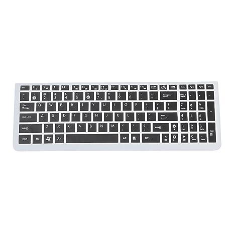 Cikuso Teclado del Ordenador portatil ASUS N50 Protector Incase Plus / N51 / N53J / K50