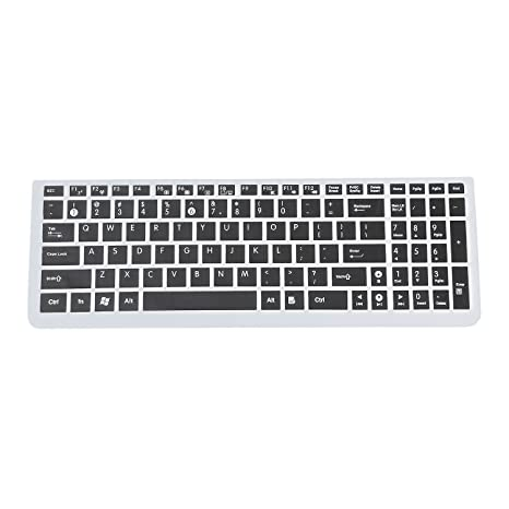 TOOGOO(R) Teclado del ordenador portatil Asus N50 Protector incase plus / N51 /