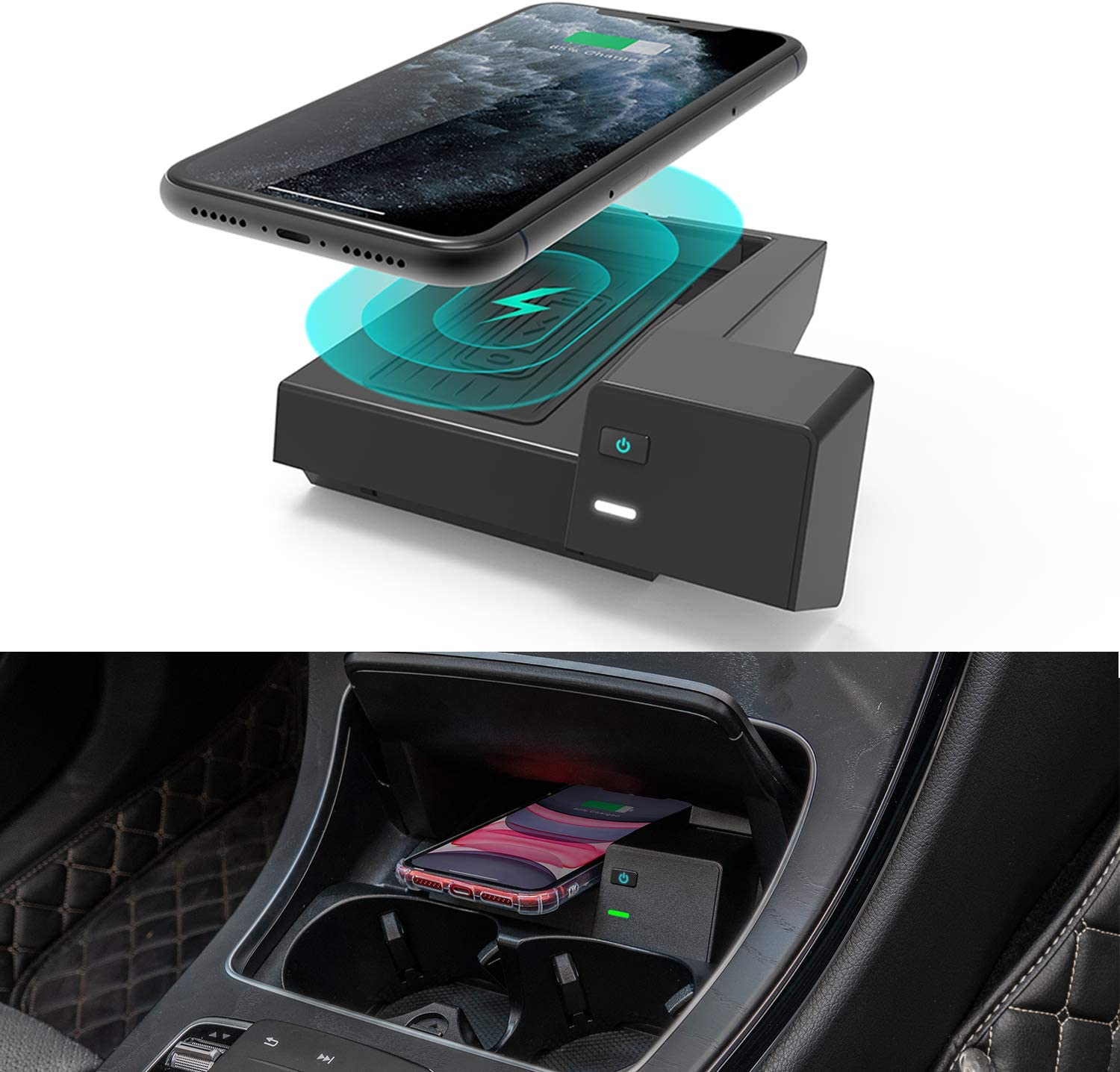 CarQiWireless Mercedes wireless charger