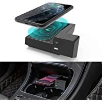 CarQiWireless Wireless Car Charger for Mercedes Benz C-Class GLC Accessories 2021-2015 for Mercedes-Benz C300 C43 AMG…