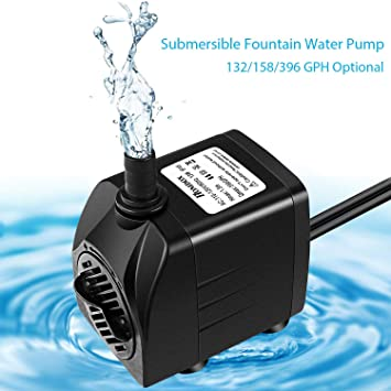Amazon Com Guiok Submersible Water Pump For Pond Aquarium Fish