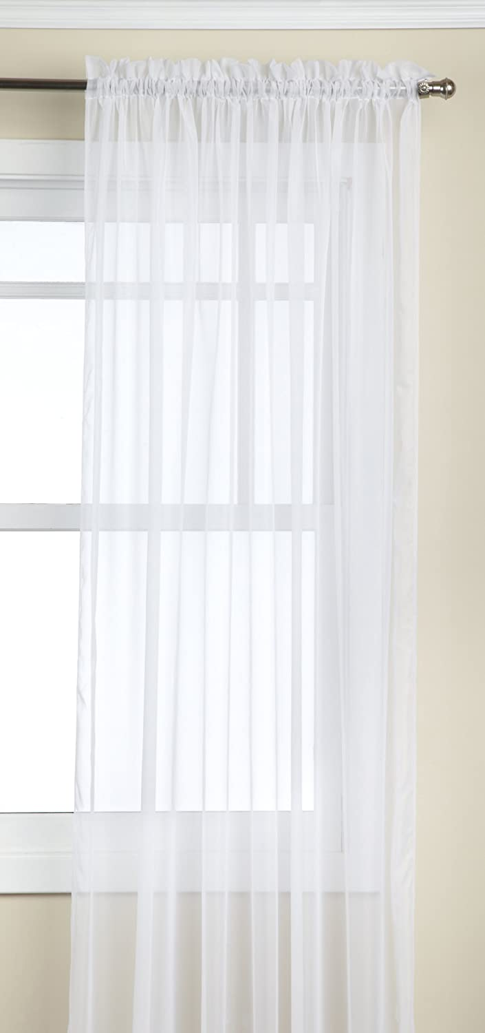 Stylemaster Elegance Sheer Voile Panel, White