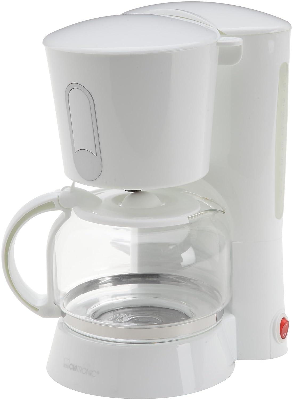 Clatronic KA 3382 - Cafetera de goteo (1,5 L), color blanco ...