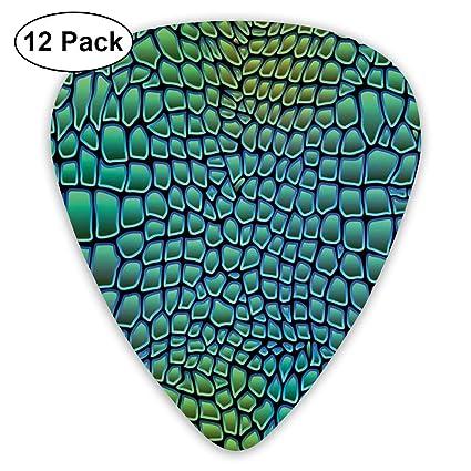 Guitar Picks - Abstract Art Colorful Designs,Alligator Skin ...