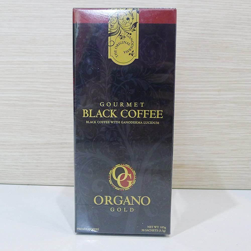 1 Caja Organo Oro Negro Café