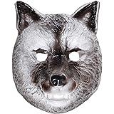 Masque de Loup Pour Enfant Tête de Loup Masque D'Animal Plastique Masque de Loup Masque Pour Enfant Animal Masque de Carnaval Chien Déguisement D'Animal Accessoire
