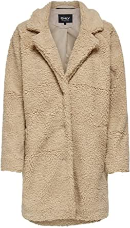 Only Onlaurelia Sherpa Coat Otw Abrigo para Mujer