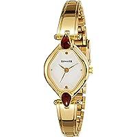 Sonata Analog White Dial Women's Watch -NK8063YM05