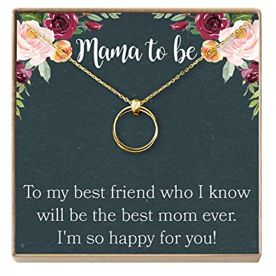 Amazon.com: Dear Ava Pregnancy Gift Necklace, New Mom, Expectant