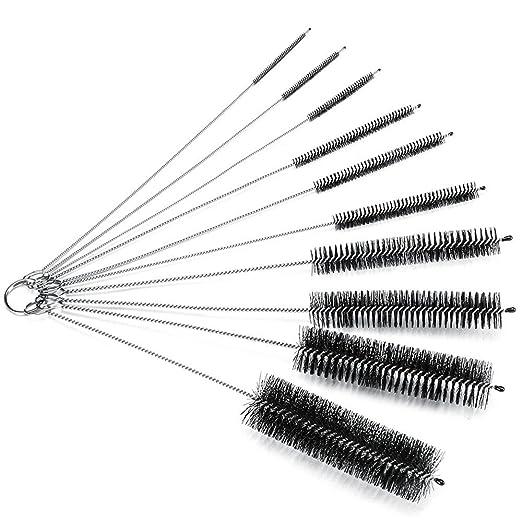 Boyko Juego de 10 cepillos para limpieza cepillo Nailon Tube ...