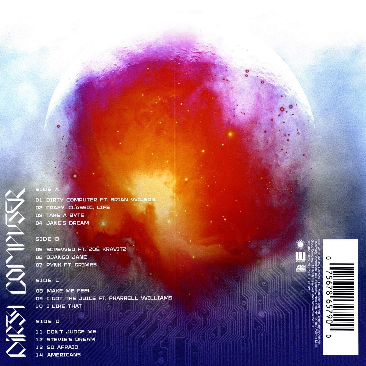 Dirty Computer [Vinyl LP] explicit_lyrics
