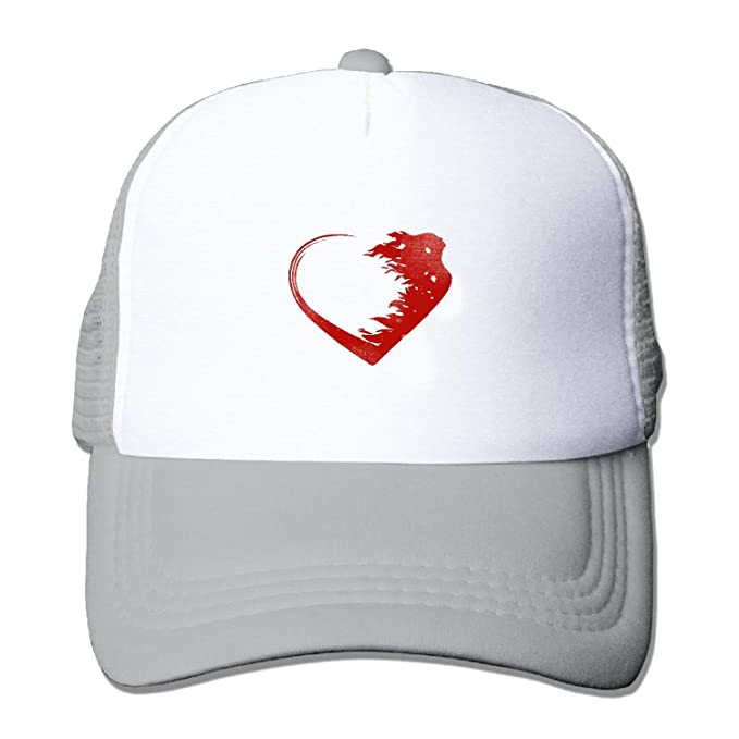54ece0916bb39 Unisex Love Warrior Logo Baseball Hat Mesh Back Trucker Adjustable (5  colours)