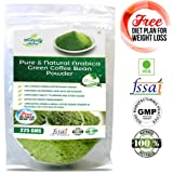 Simply Nutra Green Coffee Beans Powder ,225 Gm Unroasted Arabica, For Best Natural Weight Loss And Belly Fat Burner