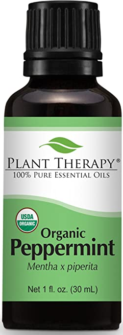 Plant Therapy USDA Certified Organic Peppermint Essential Oil