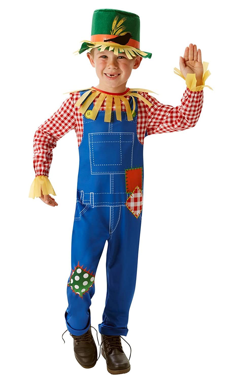 Rubies - Disfraz oficial de Mr Scaregrow para niño, talla M. Rubie' s 620507M