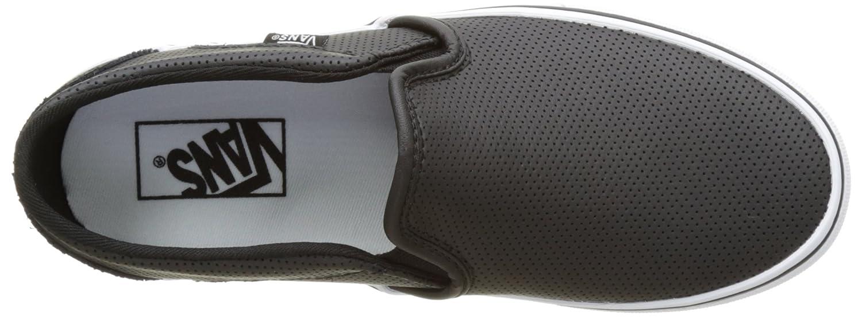 Varebiler Sort Skinn Slip Ons Amazon y9A5iq