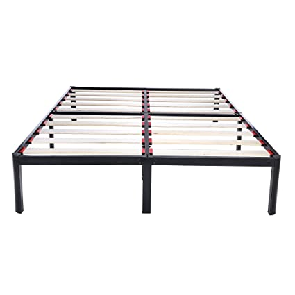 Amazon Com Eg Eagole 14 Tall Sturdy Wooden Slat 3s Bed Frame No