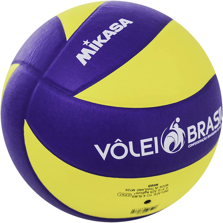 MVA 330 - Pelota de Voleibol, Color Amarillo y Azul Multicolor ...