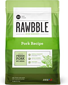 BIXBI Rawbble Dry Dog Food | Multiple Flavor Options | 4 & 24 Pounds