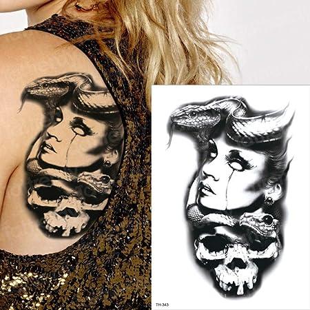 3 unids Brazo Grande Tatuaje Impermeable Samurai 3pcs-20: Amazon ...