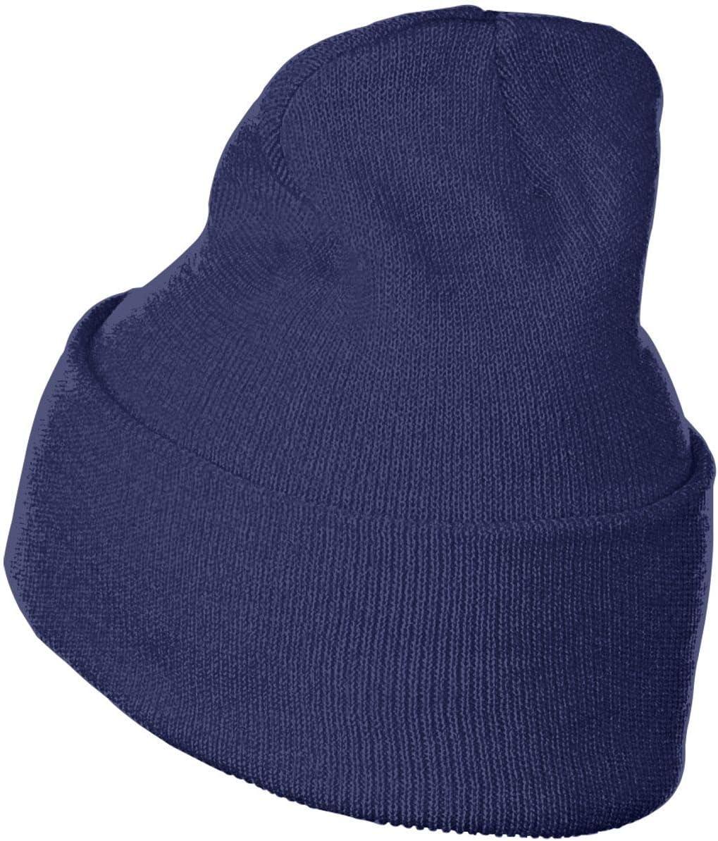 USMC VMM-166 Party Moose Men/&Women Warm Winter Knit Plain Beanie Hat Skull Cap Acrylic Knit Cuff Hat